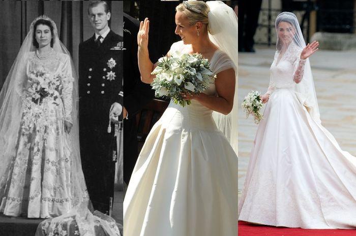 10 Gaun Pengantin Royal Wedding Terbaik Disulam Dengan 10 Ribu