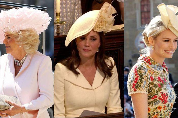 Topi para tamu undangan pernikahan Pangeran Harry-Meghan Markle 8af799a7e7