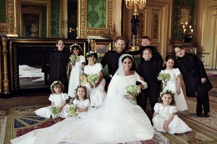 Foto resmi Meghan bersama keluarga kerajaan sudah rilis