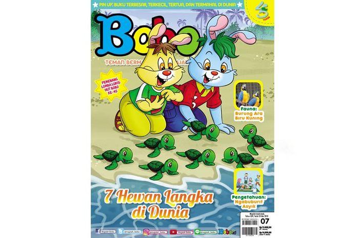 Majalah Bobo edisi 07 (Terbit 24 Mei 2018)