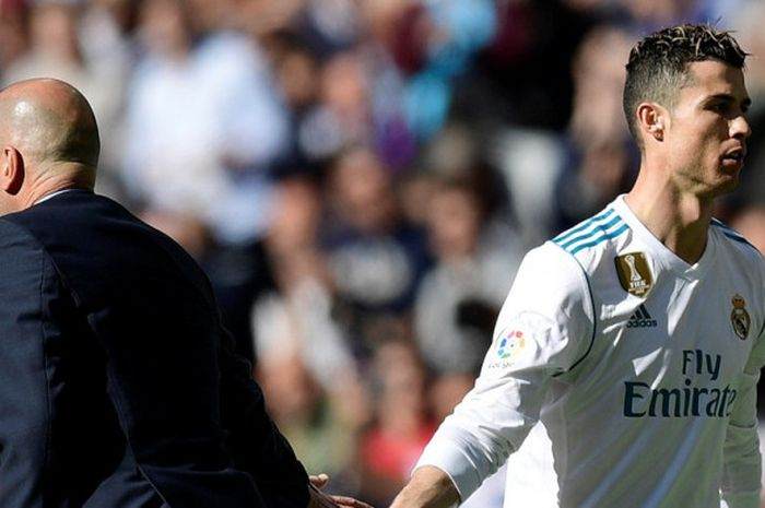 Ronaldo dan Zidane Menatap Final