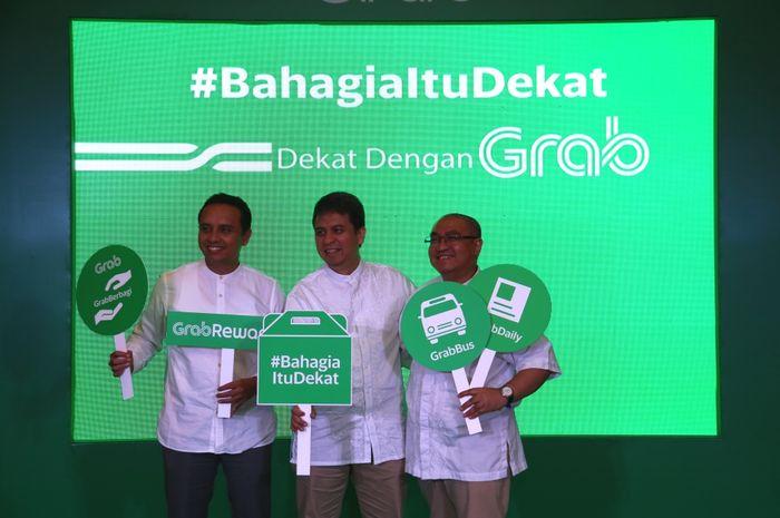 Ongki Kurniawan, Executive Director Grab Indonesia, Ridzki Kramadibrata, Managing Director Grab Indo