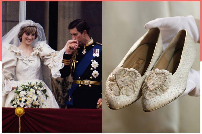 rahasia romantis di balik sepatu pernikahan Putri Diana