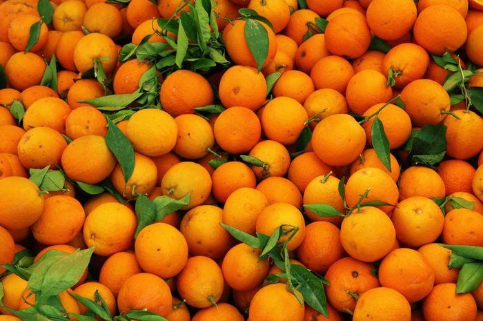 Jeruk dikenal sebagai buah yang banyak mengandung vitamin c.