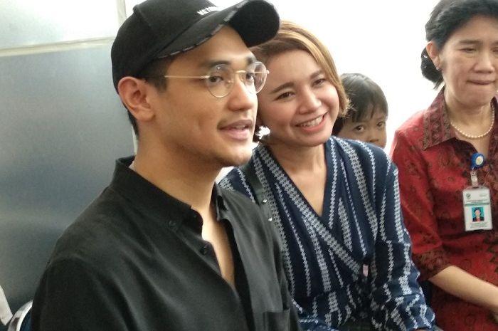 Afgan dan Rossa saat dijumpai di Grid.ID Kiara, RSCM, Jakarta Pusat, Senin (28/5/2018).