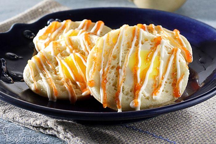 Resep serabi telur mayo pedas