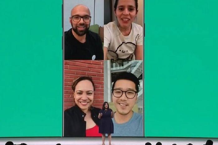 Cara gunakan WhatsApp grup Call