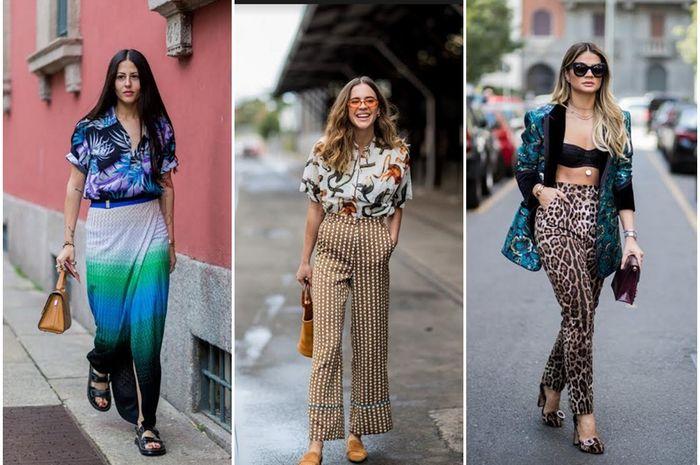 Ide Padu Padan Busana Tabrak Motif Ala Fashionista Buat Kamu Yang
