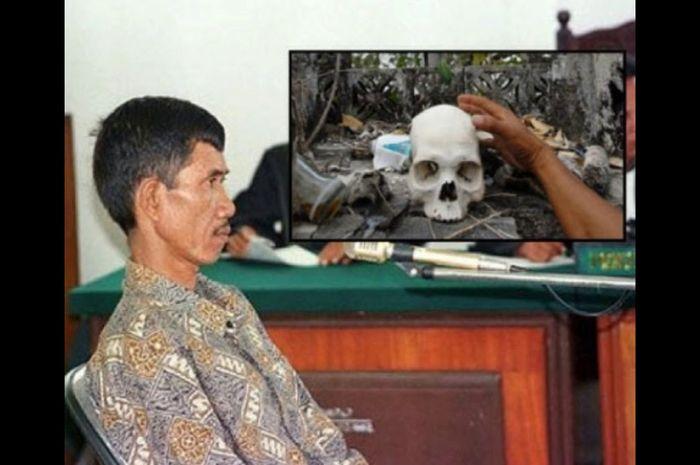 Dukun AS alias Ahmad Suradji yang telah membunuh 42 wanita.