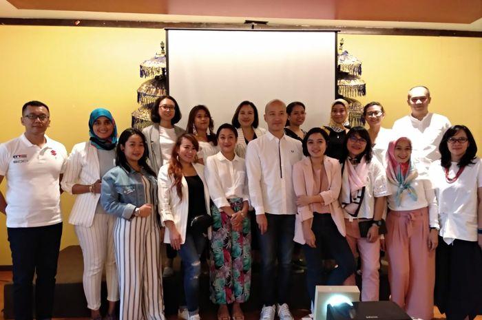 Buka puasa bersama peserta Nguber Bukber bersama Suzuki