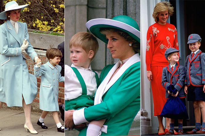 Kejutan tak terduga Putri Diana untuk Pangeran William dan Harry