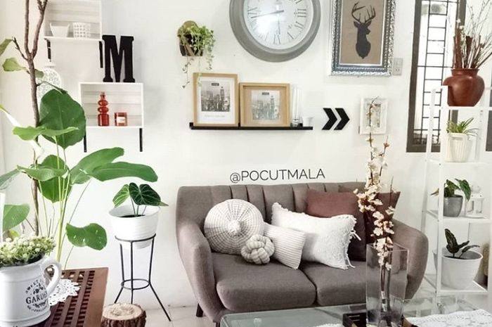 Simple But Stylish Yuk Intip Ruang Tamu Selebgram Pocutmala Idea