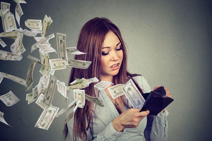 5 penyebab uang selalu habis.