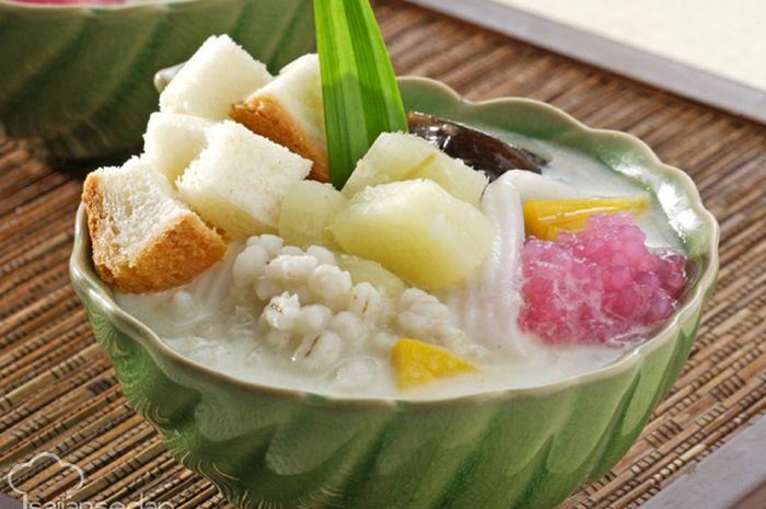 Kolak Roti Singkong