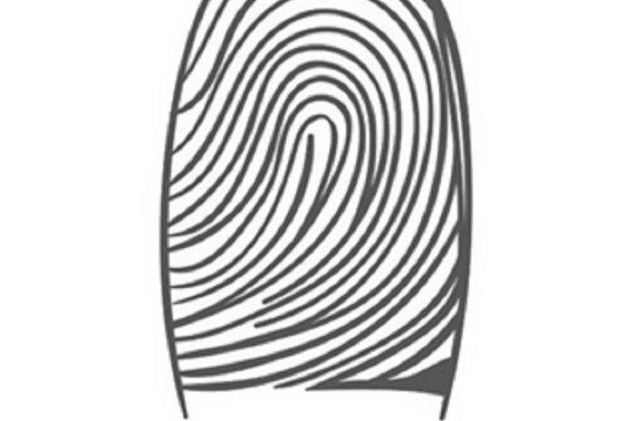 Sidik jari lingkaran