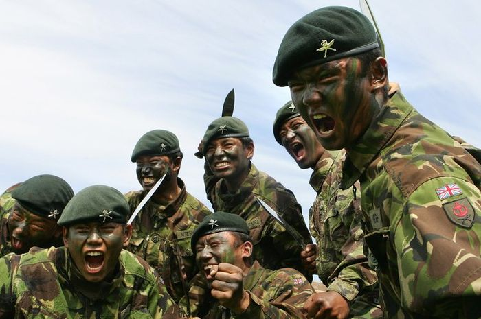 Pasukan Gurkha.