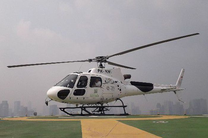 Helicopter Shuttle Service.