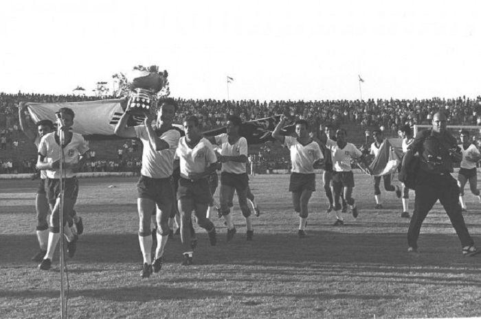 Timnas Israel sempat berjaya sebagai sebuah tim Asia di masa lalu