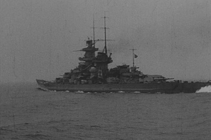 Kapal perang Nazi, Bismarck.