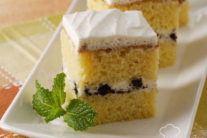 Cake Vanila Dan Oreo