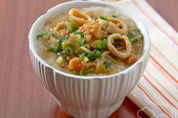 Oatmeal Seafood