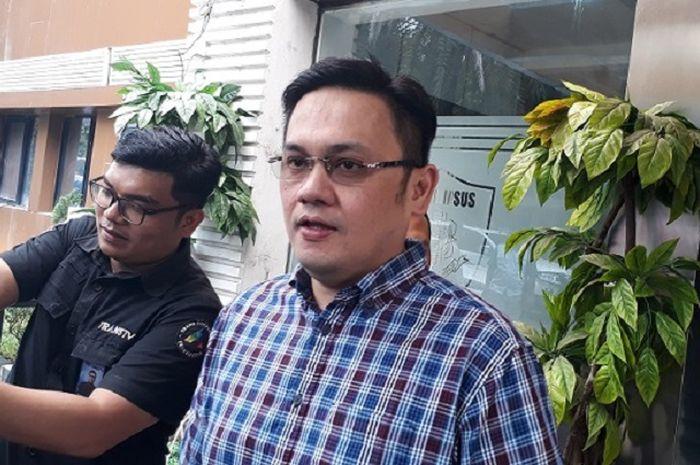 Farhat Abbas saat dijumpai Grid.ID di Polda Metro Jaya.