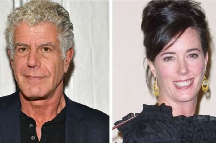 Anthony Bourdain dan Kate Spade meninggal dunia