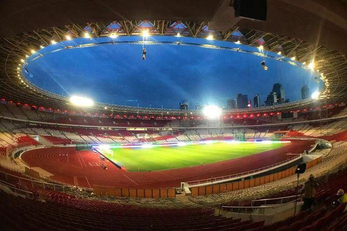 Stadion Utama Gelora Bung Karno, Jakarta yang telah selesai direnovasi