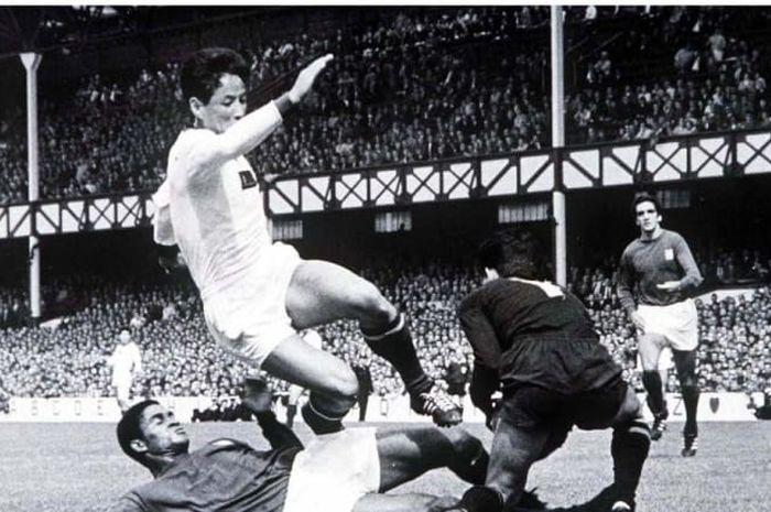 Korut vs Portugal di Piala Dunia 1966.