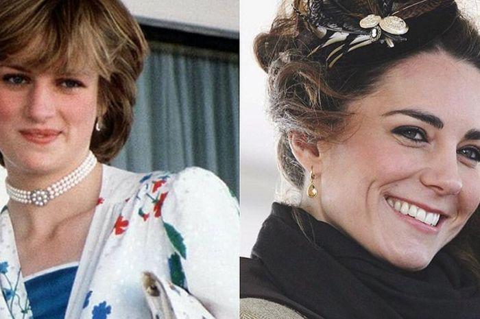 Diana dan Kate Middleton