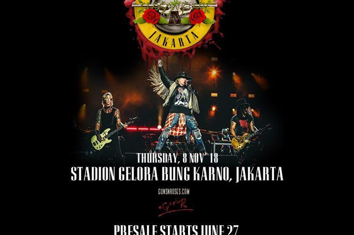Gun N' Roses Manggung di Jakarta
