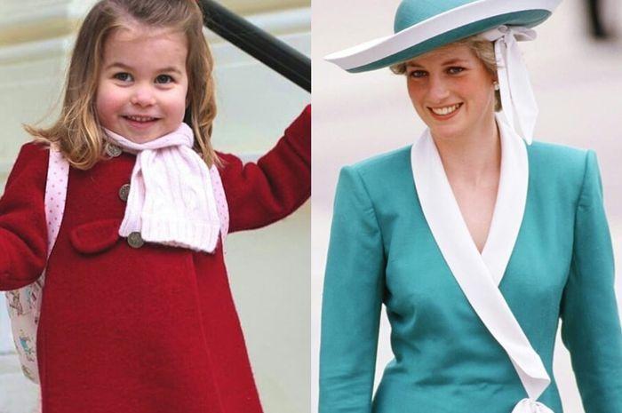 Putri Charlotte punya hobi yang sama dengan Putri Diana
