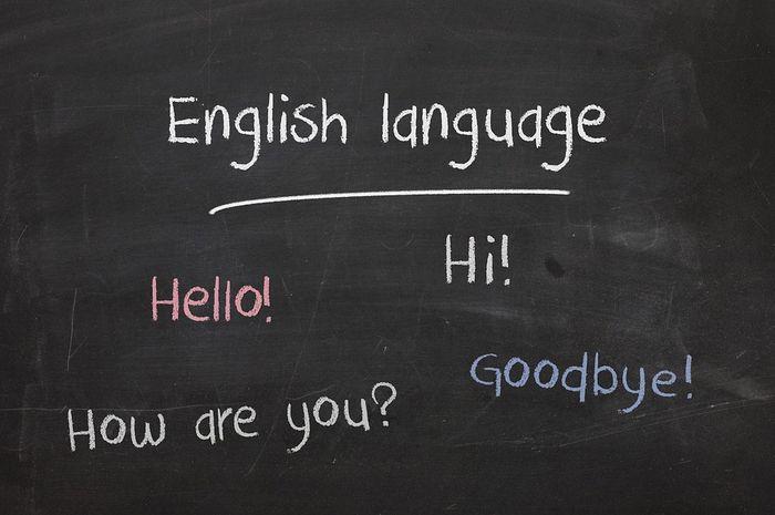 Bahasa Inggris menjadi bahasa internasional.