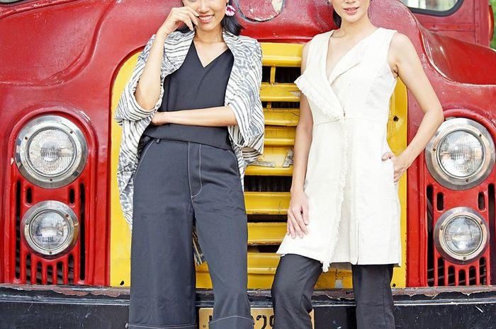 Dresscode dengan nuansa monokrom