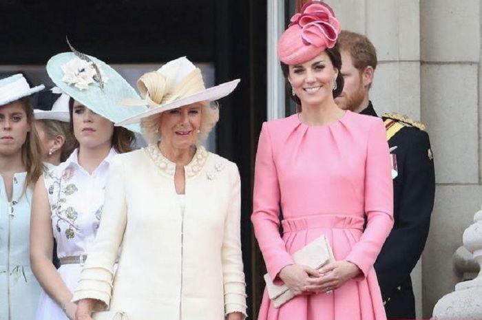 Camilla Parker dan Kate Middleton