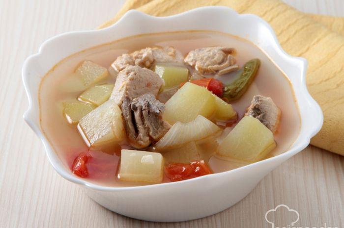 Sup Segar Labu Siam