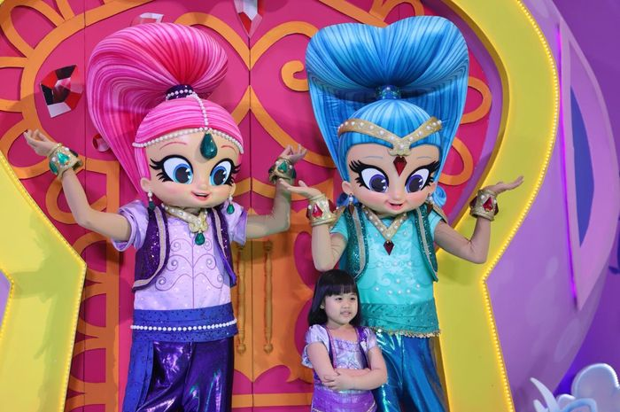 Shimmer and Shine di Lippo Mall Puri