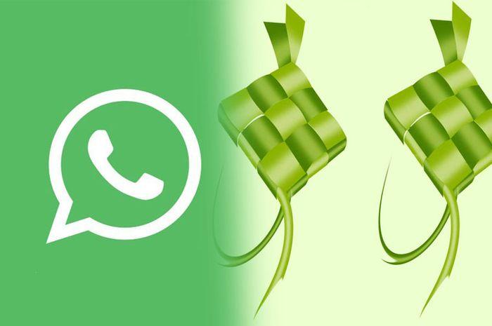 Cara membuat ucapan idul fitri lebih menarik di WhatsApp