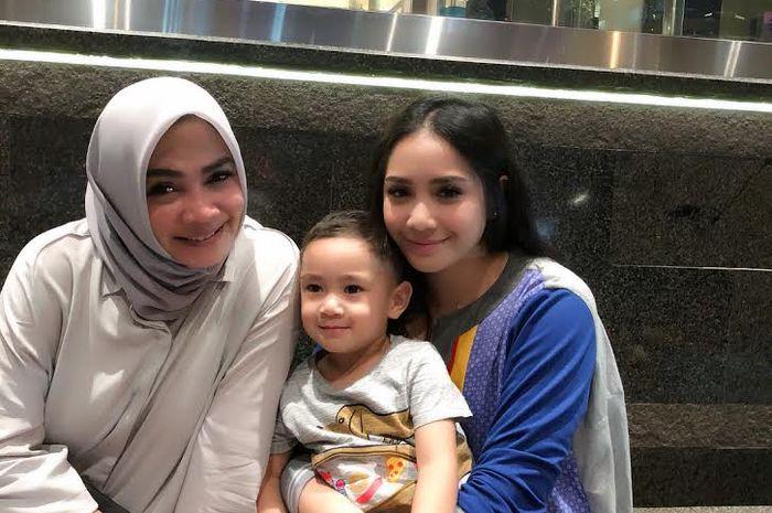 Rieta Amalia, Nagita Slavina, dan Rafathar