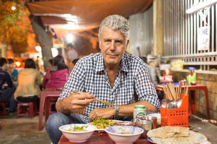 5 tip makan di restoran dari Anthony Bourdain
