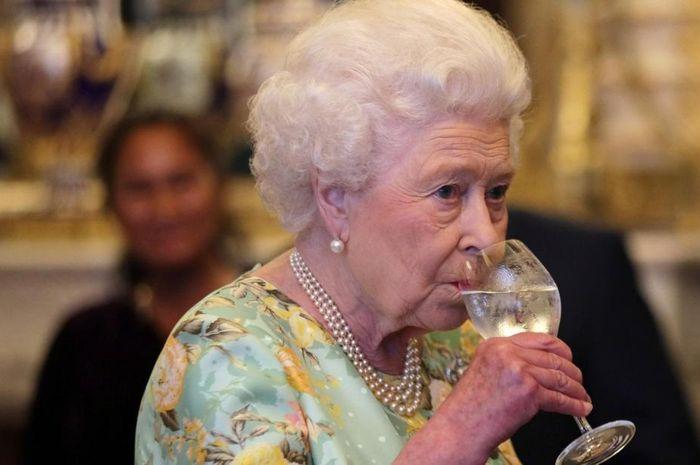 Jumlah minuman Ratu Elizabeth II dalam sehari