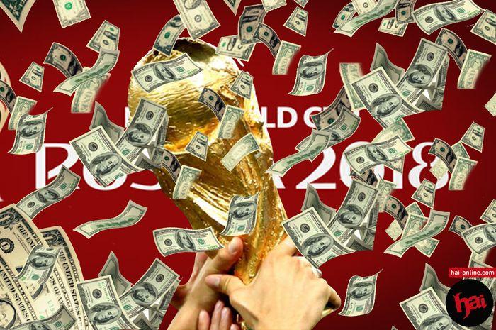 Mengintip Jumlah Uang yang Didapatkan Peserta Piala Dunia