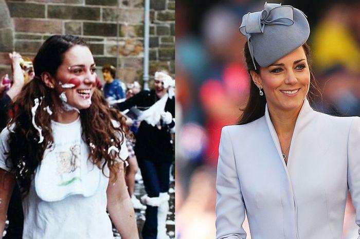 Sebelum dan sesudah menjadi keluarga kerajaan.