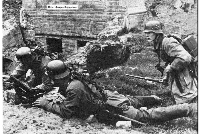 ilustrasi tentara  Jerman