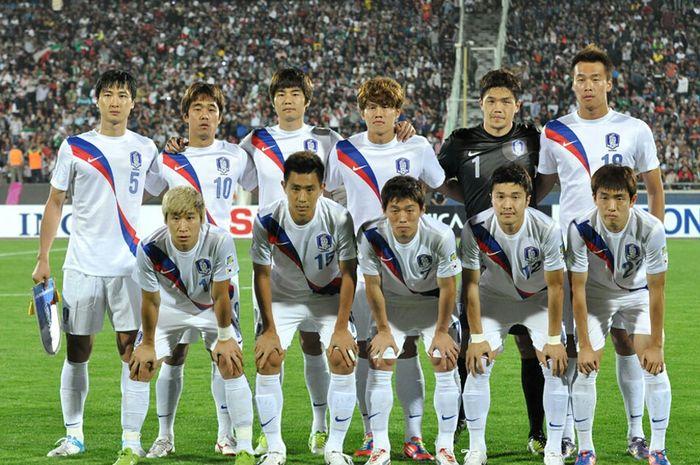Timnas Korea Selatan pada 2012
