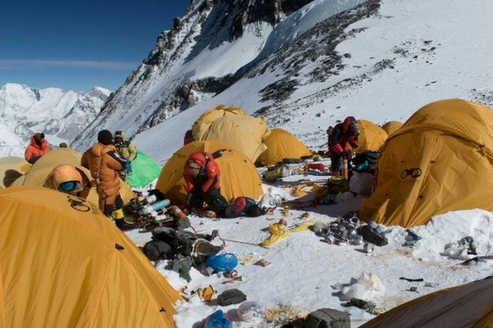 Para pendaki Everest