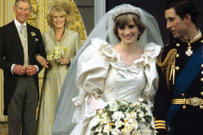 Charles-Camilla dan Charles-Diana