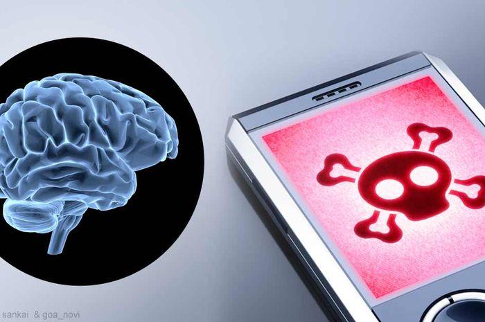 Paparan gadget dan kanker otak.