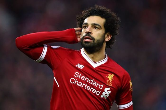 Mohamed Salah, pemain andalan Liverpool asal Mesir.