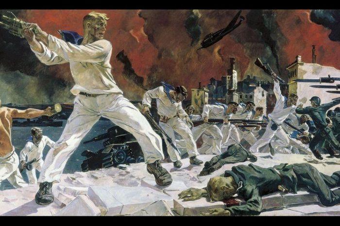 Ilustri kehebatan Dmitry dalam perang